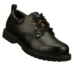 Black Skechers Work Relaxed Fit: Cottonwood - Fribble SR