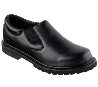 Black Skechers Relaxed Fit: Cottonwood - Goddard SR