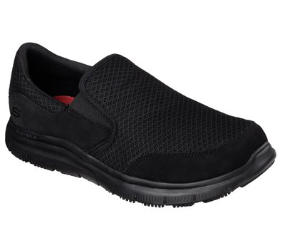 Black Skechers Work Relaxed Fit: Flex Advantage - McAllen SR