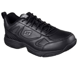 Black Skechers Work Relaxed Fit: Dighton SR