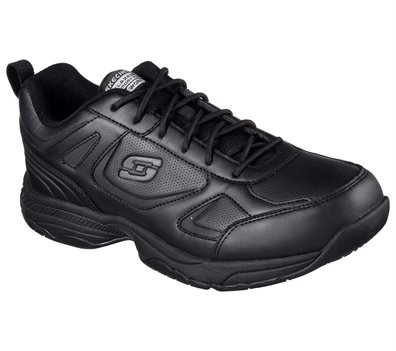 Black Skechers Work Relaxed Fit: Dighton SR - FINAL SALE