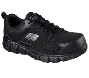 BLACK Skechers LACE UP ATHLETIC WITH COMP
