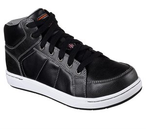 Black Skechers Work: Watab - Stirling ST