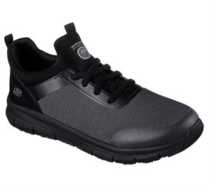 GRAYBLACK Skechers Work Relaxed Fit: Wishaw SR