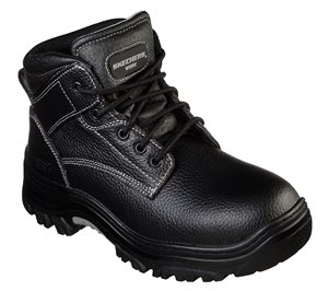 Black Skechers Work Relaxed Fit: Burgin - Congaree