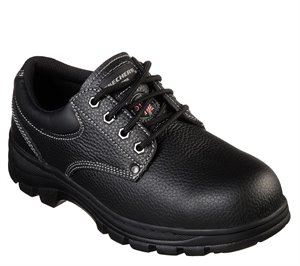 Black Skechers Work: Workshire - Tydfil ST