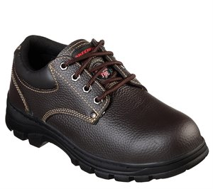 Brown Skechers Work: Workshire - Tydfil ST