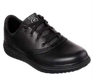 Black Skechers Work Relaxed Fit: Mohall SR