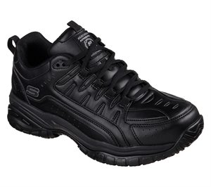 Black Skechers Work Relaxed Fit: Soft Stride - Thurles SR