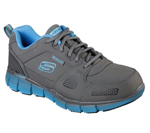 Blue Gray Skechers Work: Telfin - Thordd ESD