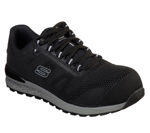 Black Skechers Work: Bulklin Comp Toe