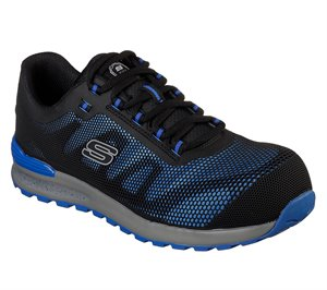Blue Skechers Work: Bulklin Comp Toe