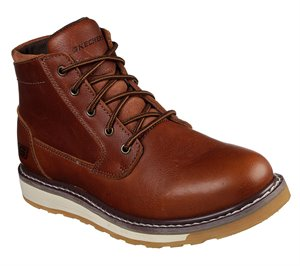 Brown Skechers Relaxed Fit: Boydton - Emporia - FINAL SALE