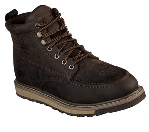 Brown Skechers Work Relaxed Fit: Boydton