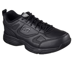 Black Skechers Work Relaxed Fit: Dighton - Bricelyn SR - FINAL SALE