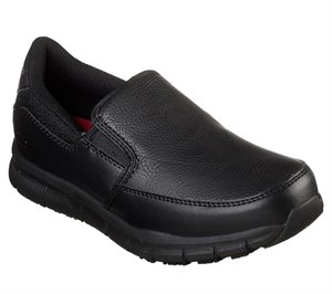 Black Skechers Work Relaxed Fit: Nampa - Annod SR