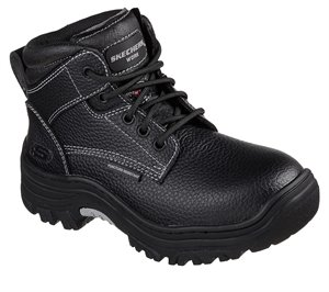 Black Skechers Work: Burgin - Krabok ST
