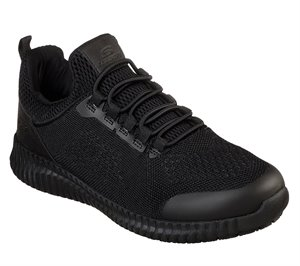 Black Skechers Work Relaxed Fit: Cessnock - Carrboro SR