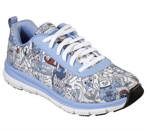 Multi Blue Skechers Work Relaxed Fit: Comfort Flex HC Pro SR