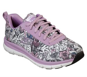 Multi Purple Skechers Work Relaxed Fit: Comfort Flex HC Pro SR