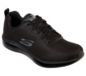 Black Skechers Work Relaxed Fit: Skech-Air SR