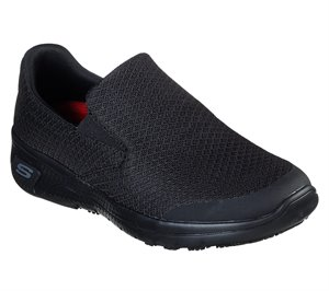 Black Skechers Work Relaxed Fit: Marsing SR