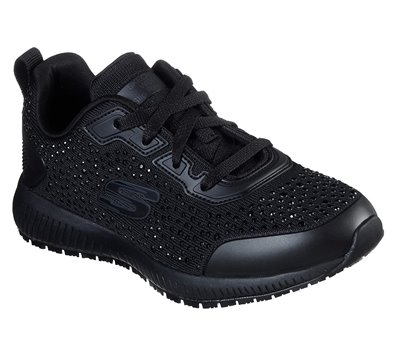Black Skechers Work Relaxed Fit: Squad - Prout SR
