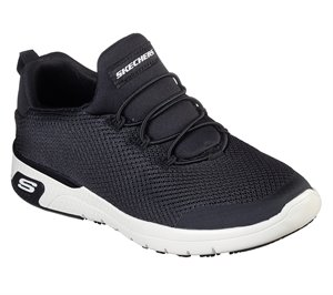 White Black Skechers Work Relaxed Fit: Marsing - Waiola SR - FINAL SALE