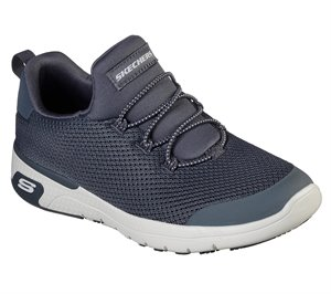 Gray Skechers Work Relaxed Fit: Marsing - Waiola SR - FINAL SALE
