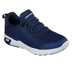 Navy Skechers Work Relaxed Fit: Marsing - Waiola SR - FINAL SALE