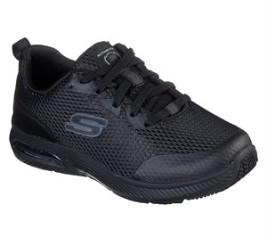 Black Skechers Work Relaxed Fit: Dyna-Air SR