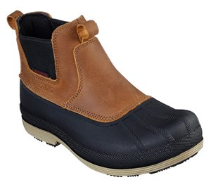 Brown Skechers Work: Robards - Cahir SR WP