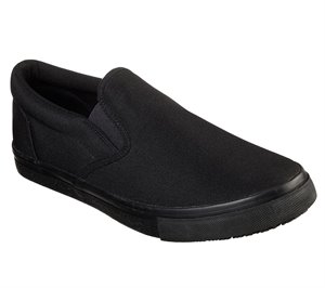 Black Skechers Work Relaxed Fit: Sudler - Dedham SR