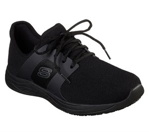 Black Skechers Work Relaxed Fit: Toston WP SR