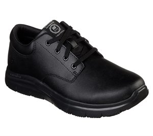 Black Skechers Work Relaxed Fit: Flex Advantage - Fourche SR