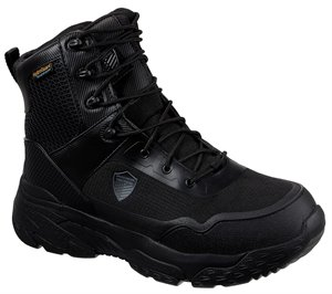Black Skechers Work Relaxed Fit: Markan Tactical - FINAL SALE