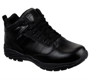 Black Skechers Work Relaxed Fit: Braly Tactical