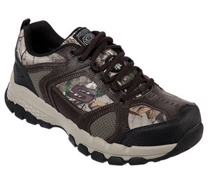 Camouflage Skechers Work: Queznell - Hulen ST - FINAL SALE