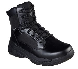 Black Skechers Work Relaxed Fit: Markan - Bovill Tactical - FINAL SALE