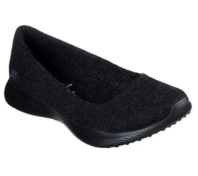 Black Skechers Wash-A-Wools: Microburst 2.0 - Tendencies - FINAL SALE
