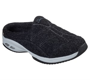 Black Skechers Wash-A-Wools: Commute Time - Sheepish - FINAL SALE