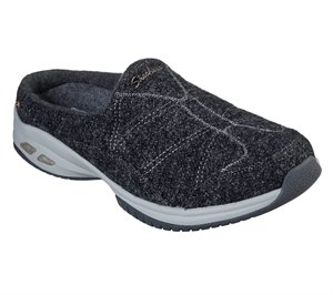 Gray Skechers Wash-A-Wools: Commute Time - Sheepish