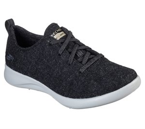 Black Skechers Wash-A-Wools: Spectrum