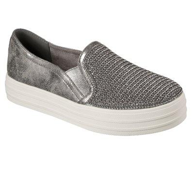 skechers shiny dancer silver