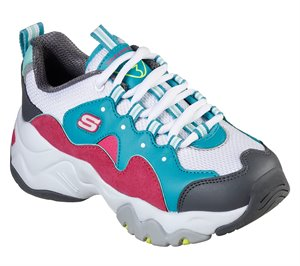 Pink Blue Skechers D'Lites 3.0 - Zenway - FINAL SALE