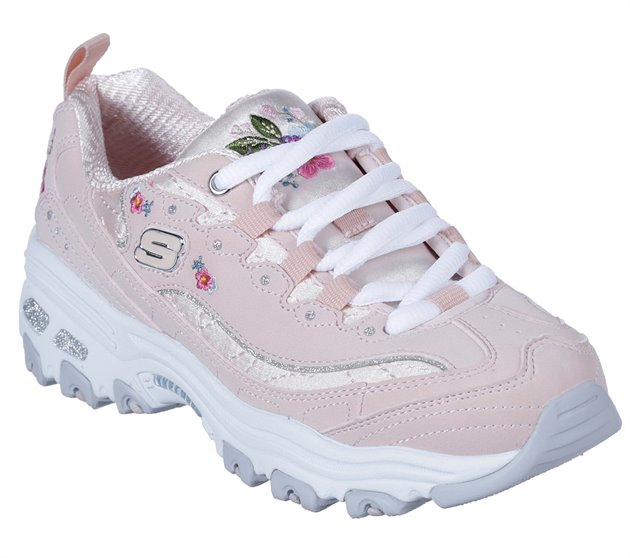 bright pink skechers