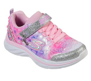 Purple Pink Skechers Quick Kicks - Lil Princess