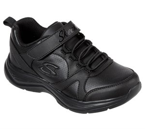 Black Skechers Glimmer Kicks - School Struts