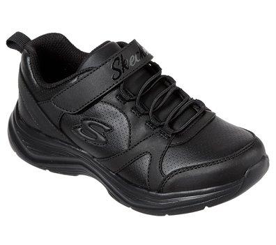 Black Skechers Glimmer Kicks - School Struts