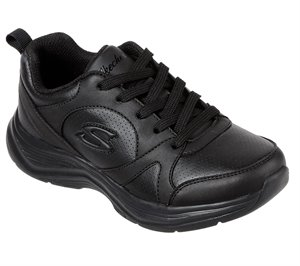 Black Skechers Glimmer Kicks - Live N' Learn
